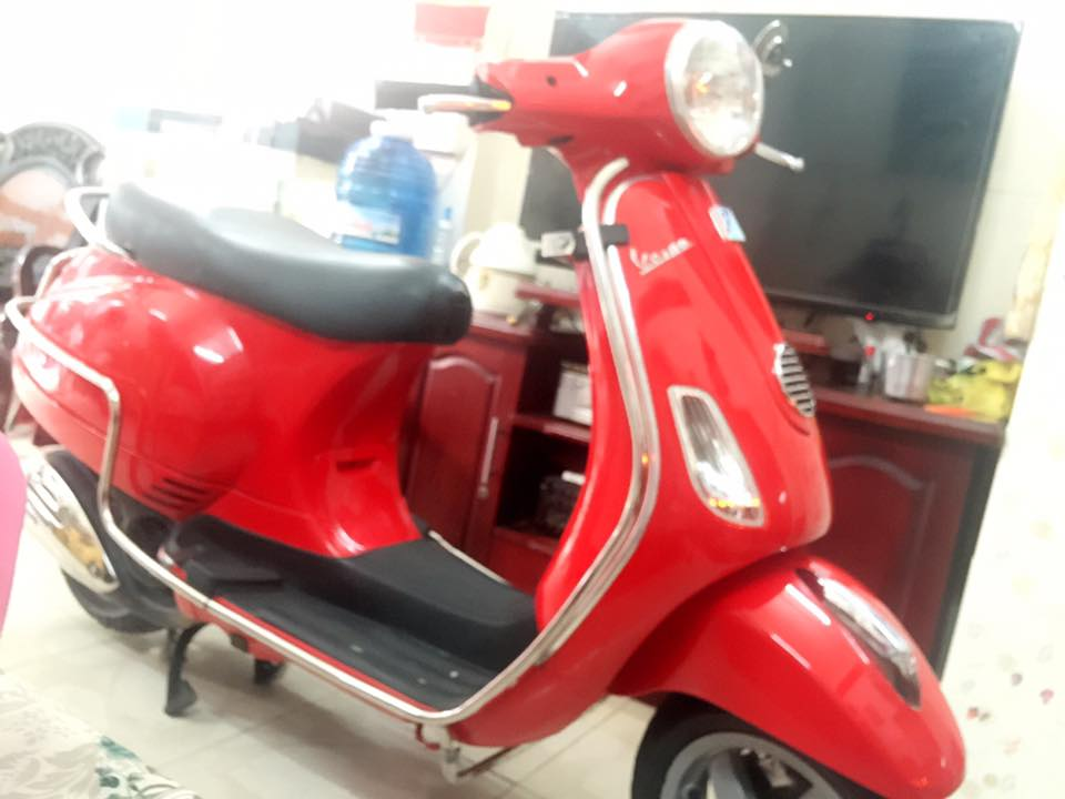 Vespa Lx 125 mau do chinh chu bstp 8 nut - 4