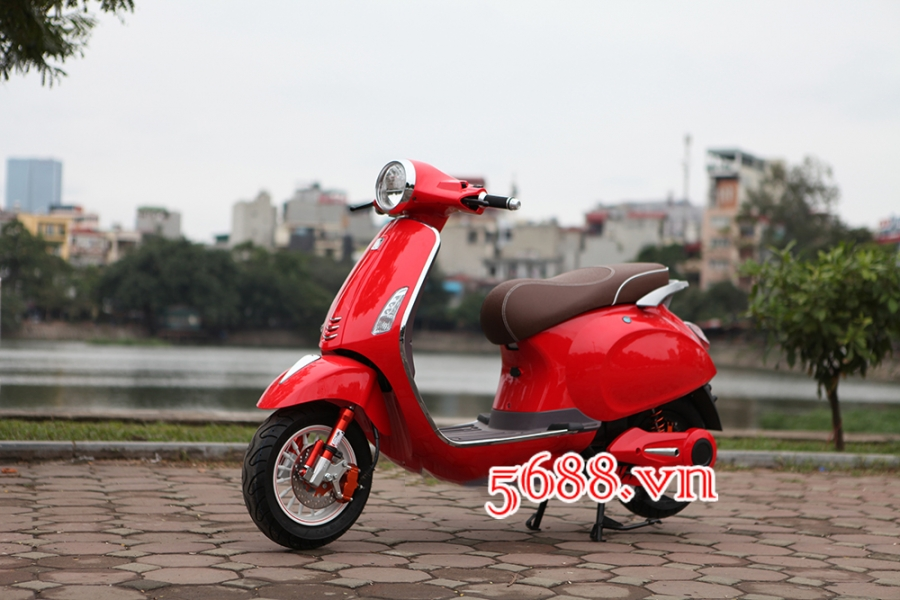 Xe dien sunra vespa ca tinh gia re - 6