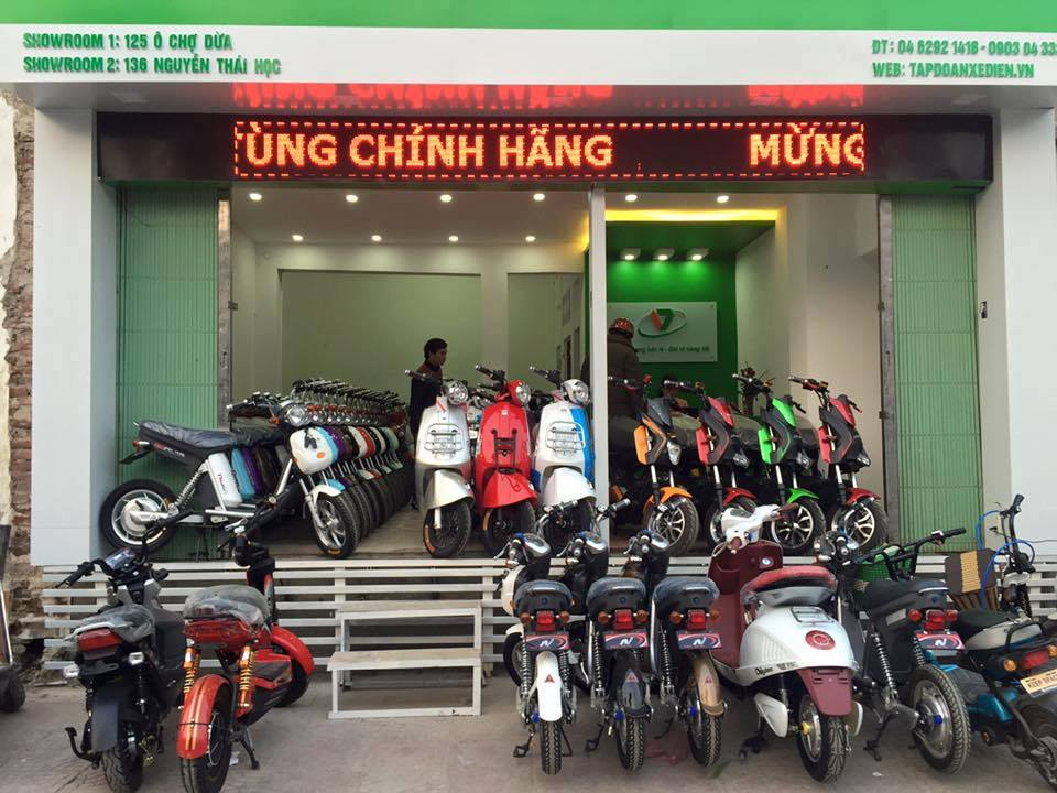 Xe may dien o Ha Noi gia re chat luong cao