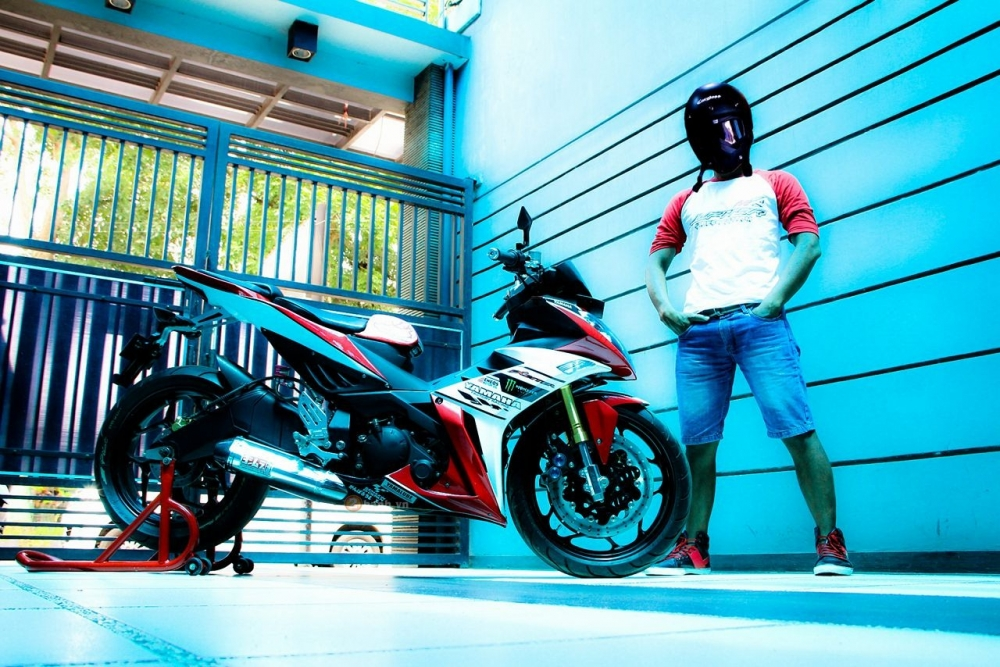 Yamaha X1R do so dang cungchu xe