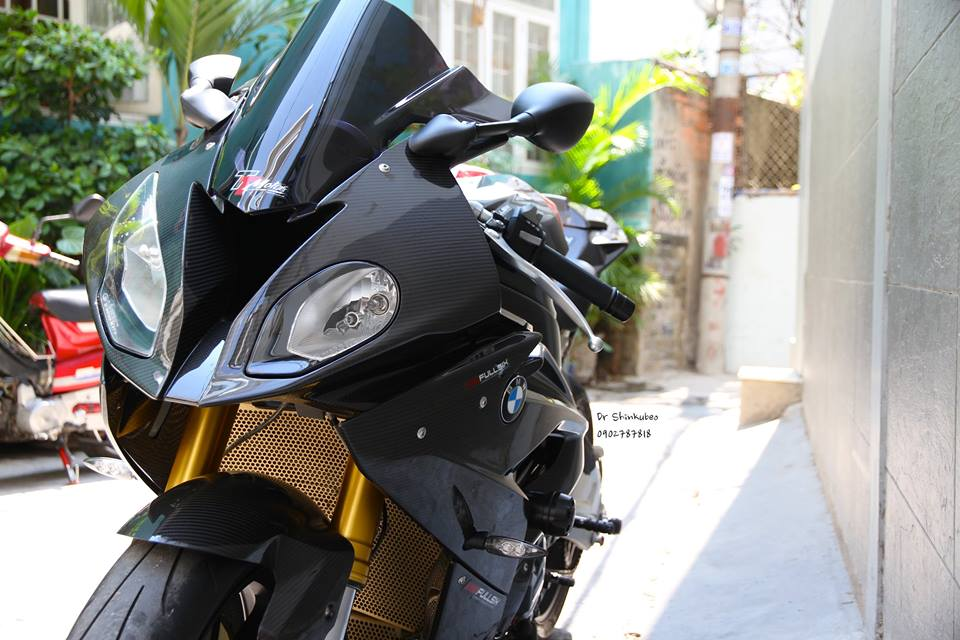 BMW S1000RR 2015 do full carbon cuc chat tai Viet Nam - 3
