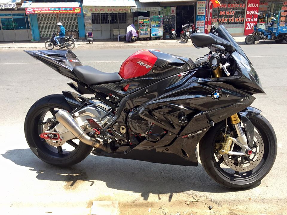 BMW S1000RR 2015 do full carbon cuc chat tai Viet Nam - 9