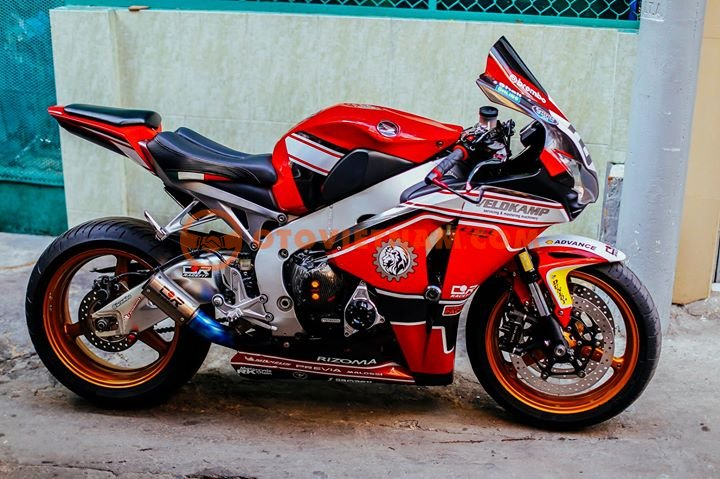 Can Ra Di Em CBR1000RR 2011 HQCN FULL DO CHOI - 5