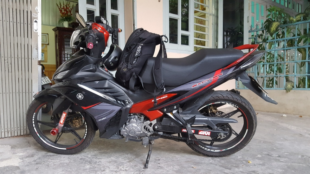 Exciter 135 do tem cuc ngau voi phien ban RC 2016