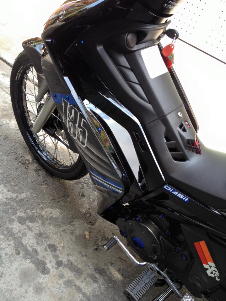 Exciter 135 Spark cuc phong cach - 8