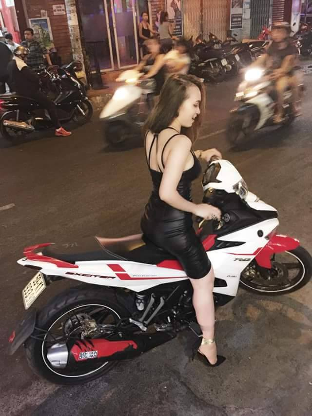 Exciter 150 so dang cung hot girl ca tinh - 3
