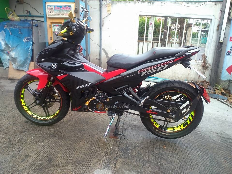 Exciter 150 do voi nhieu do choi noi bat cua biker Thai Lan - 3
