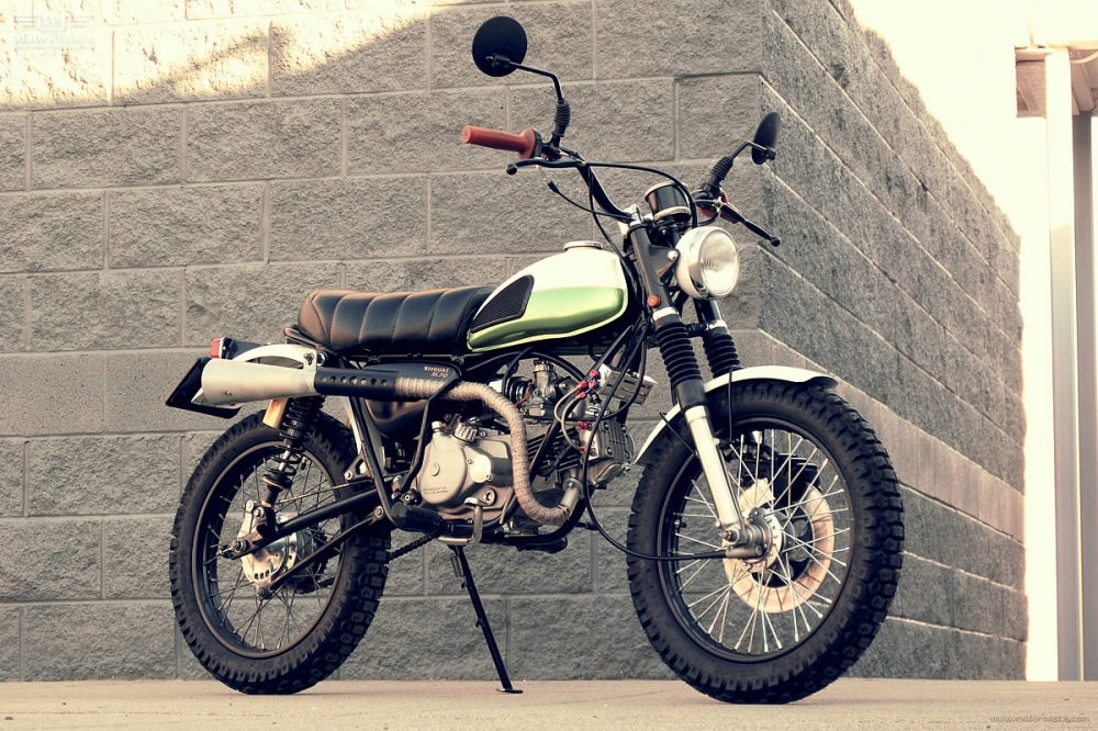 Honda SL70 do Scrambler - 2