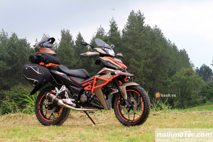 Honda Winner do an tuong voi phong cach Adventure