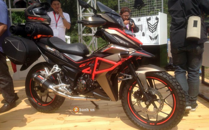 Honda Winner do an tuong voi phong cach Adventure - 8