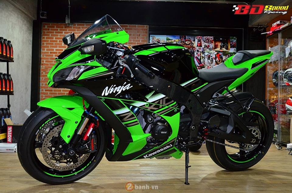 Kawasaki Ninja ZX10R 2016 trong ban do cuc chat tu BD Speed Racing