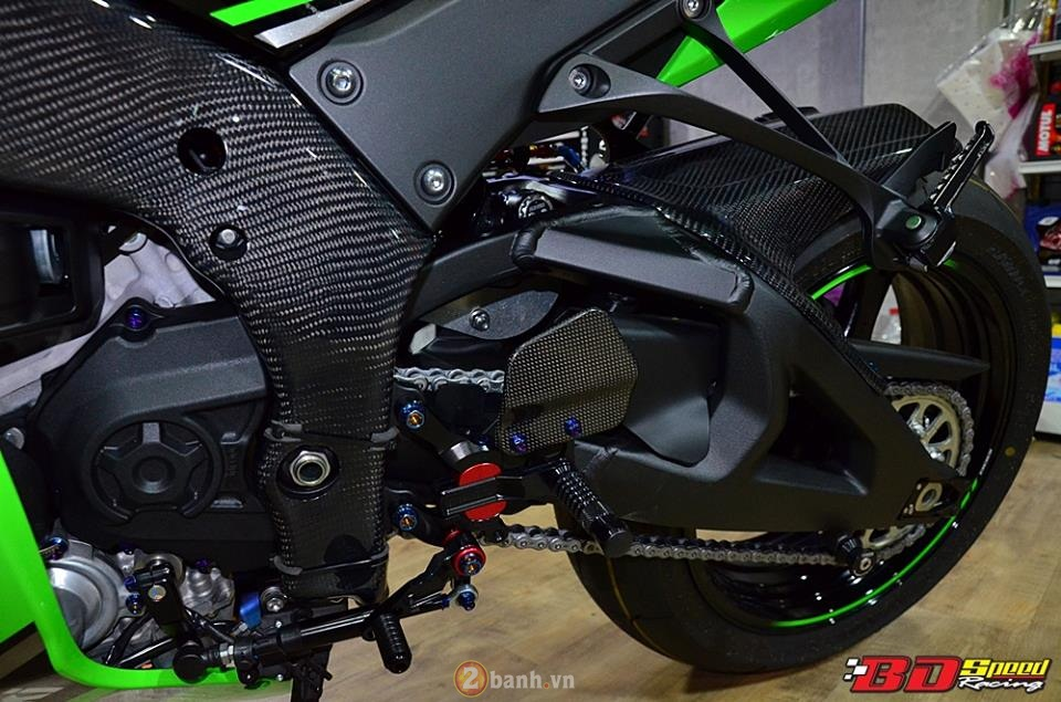 Kawasaki Ninja ZX10R 2016 trong ban do cuc chat tu BD Speed Racing - 17