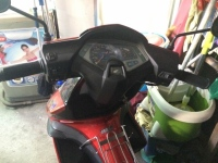 Nha chat ban Honda Airblade 2008 do - 3