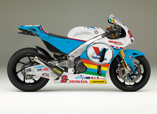 Sieu xe tien ty Honda RC213VS do len 200 ma luc de dua Isle of Man TT