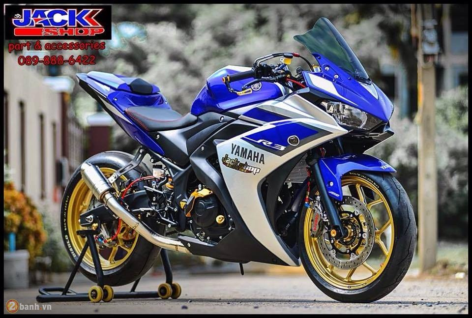 Yamaha R3 do cuc chat den tu Jackshop Ladprao71