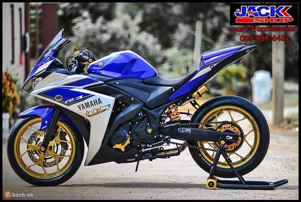 Yamaha R3 do cuc chat den tu Jackshop Ladprao71 - 3