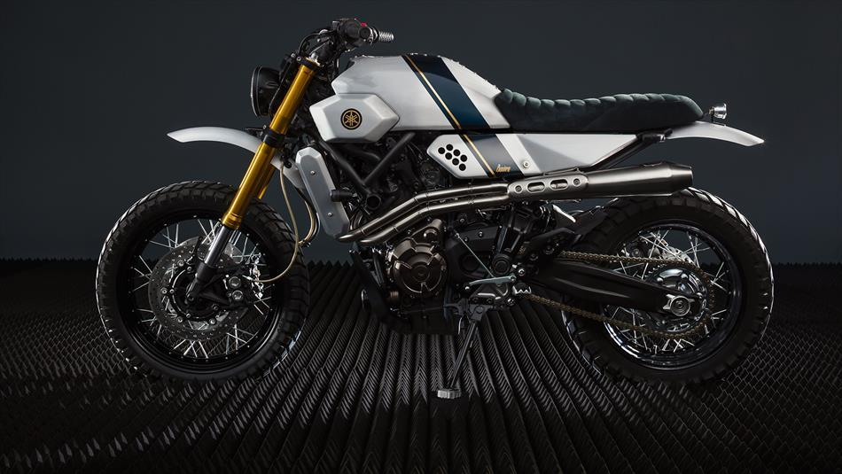 Yamaha XSR700 vo cung an tuong trong ban do Tracker tu Bunker Customs Cycle - 4