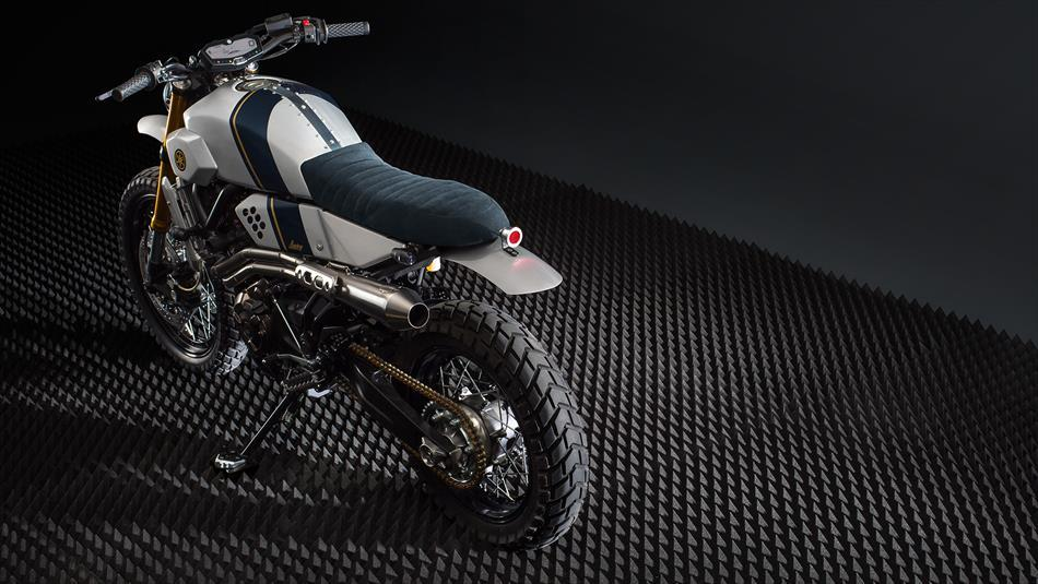 Yamaha XSR700 vo cung an tuong trong ban do Tracker tu Bunker Customs Cycle - 5