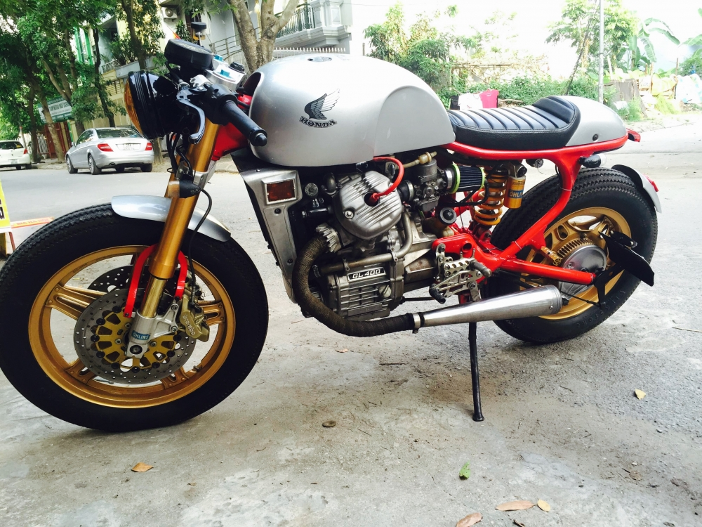 Ban Honda GL400 Cafe Racer HQCN Full hang hieu chat ngat Ly Cafe hoan my - 7