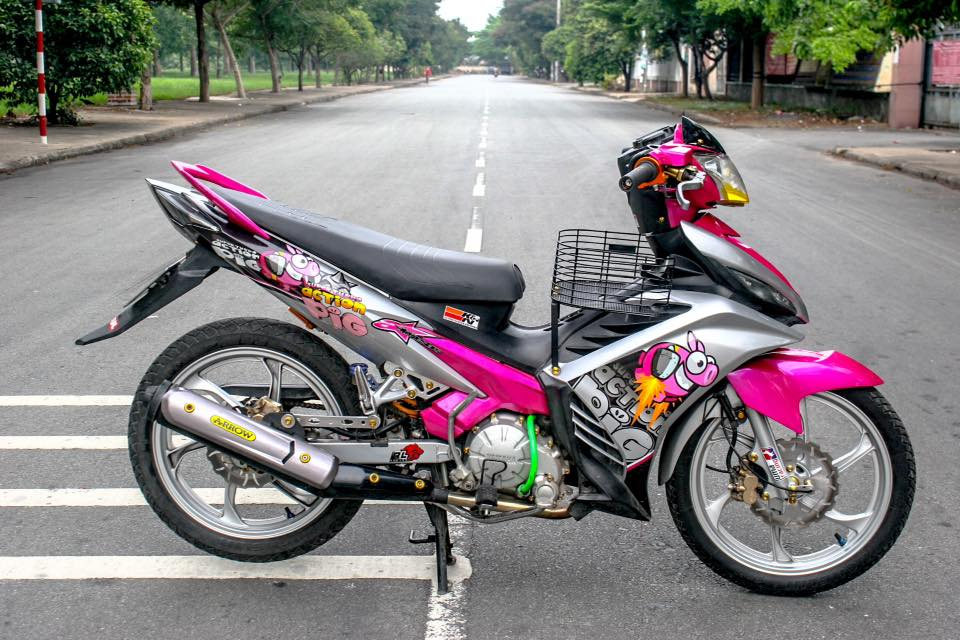 Exciter 135 day ca tinh voi phien ban Action Pig - 4