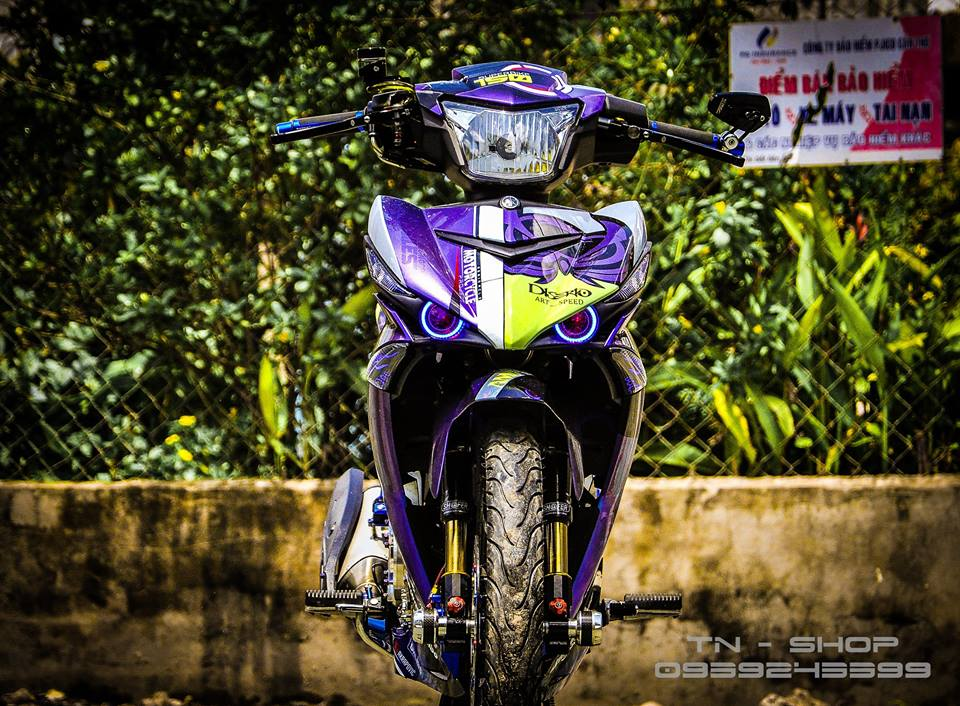 Exciter 150 do chat lu cua cac biker mien Tay - 5