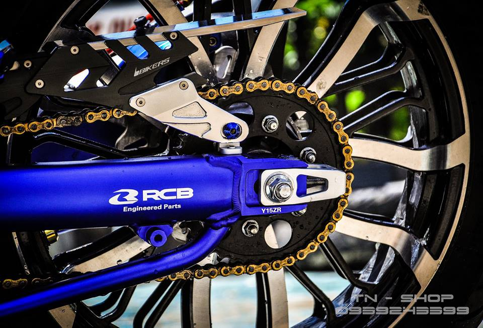 Exciter 150 do chat lu cua cac biker mien Tay - 11