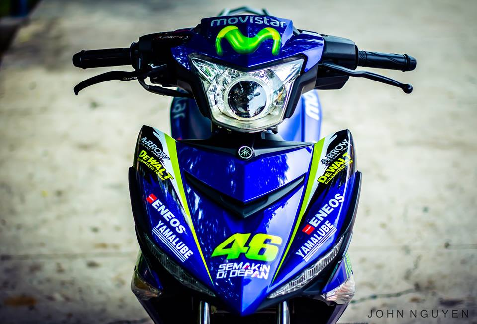 Exciter 150 do Drag phong cach Movistar 46 Edition