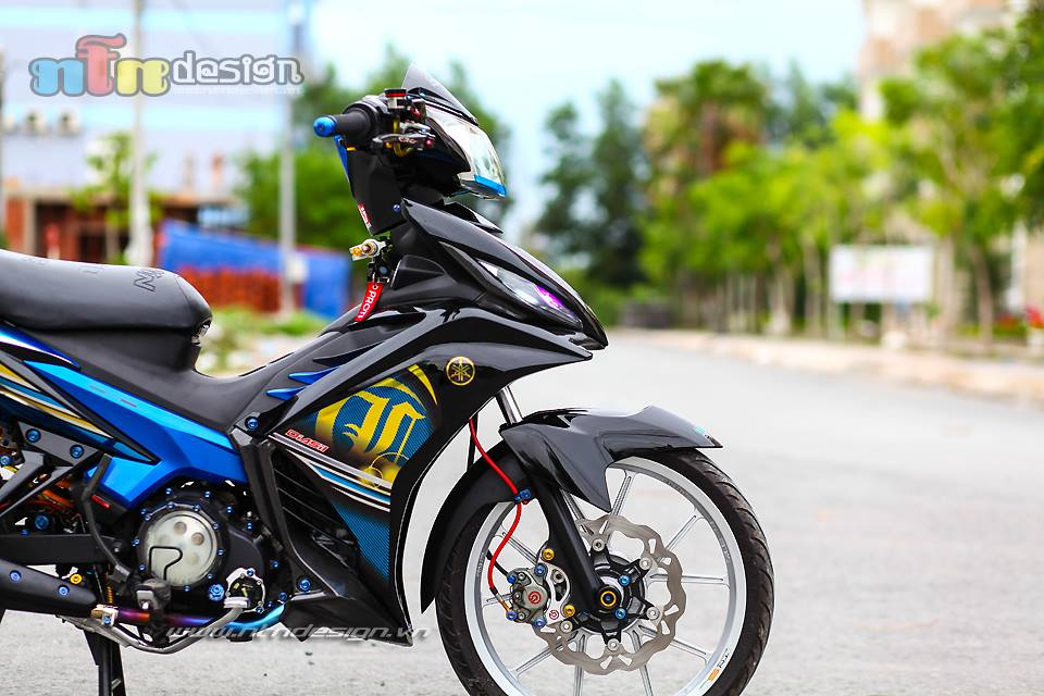 Exciter do phong cach LC 135 cuc chat