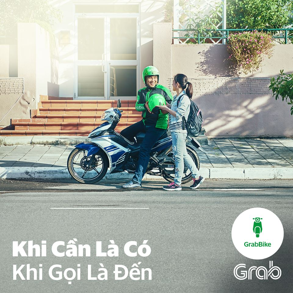 Grab Tuyen Doi Tac Lai Xe May Ha Noi