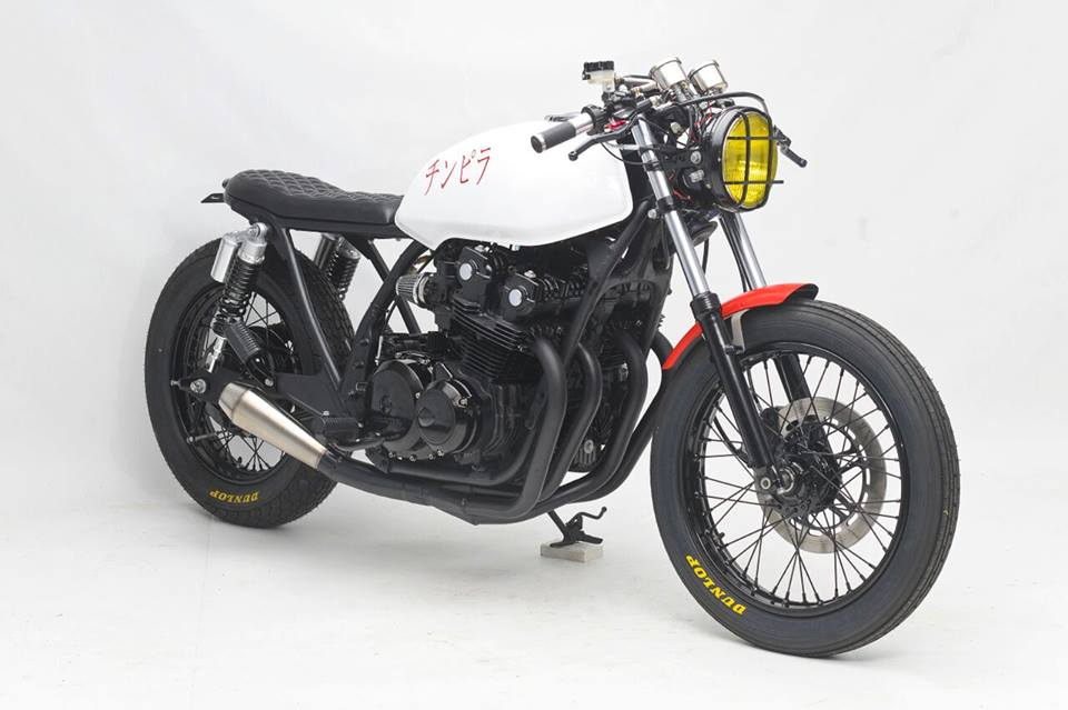 Honda CB750 doi 1980 do dep don gian va cuc ngau - 3