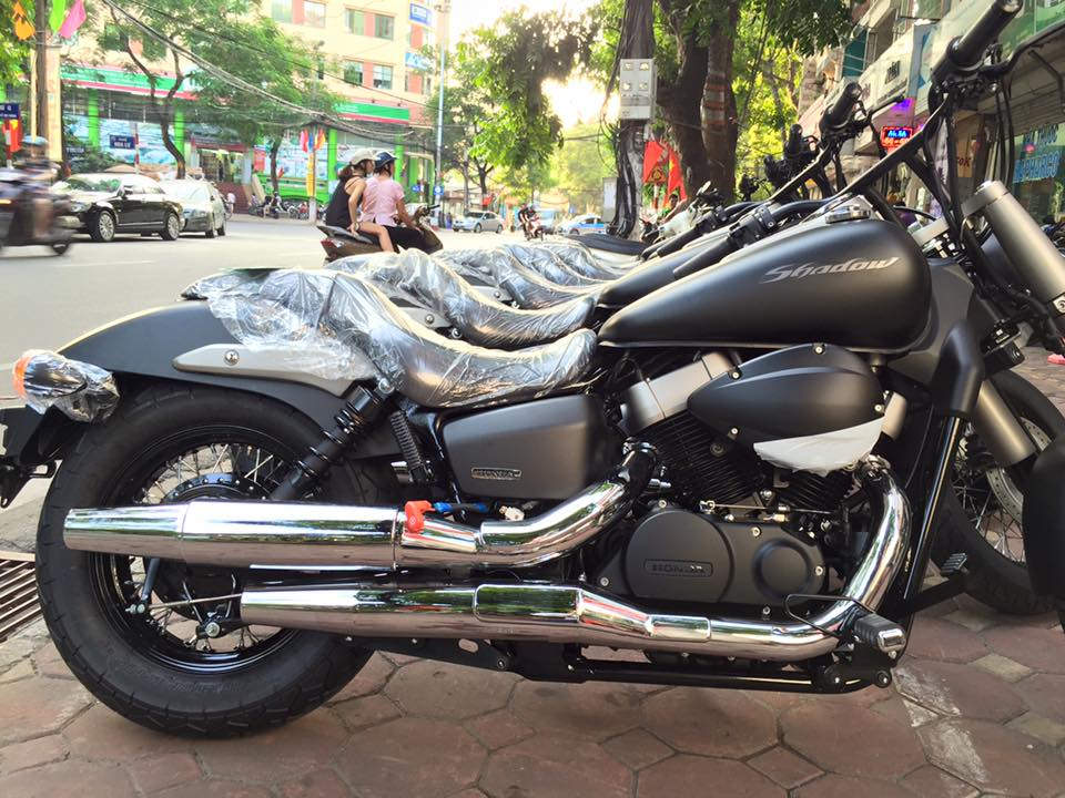 Honda shadow phantom 750 - 3