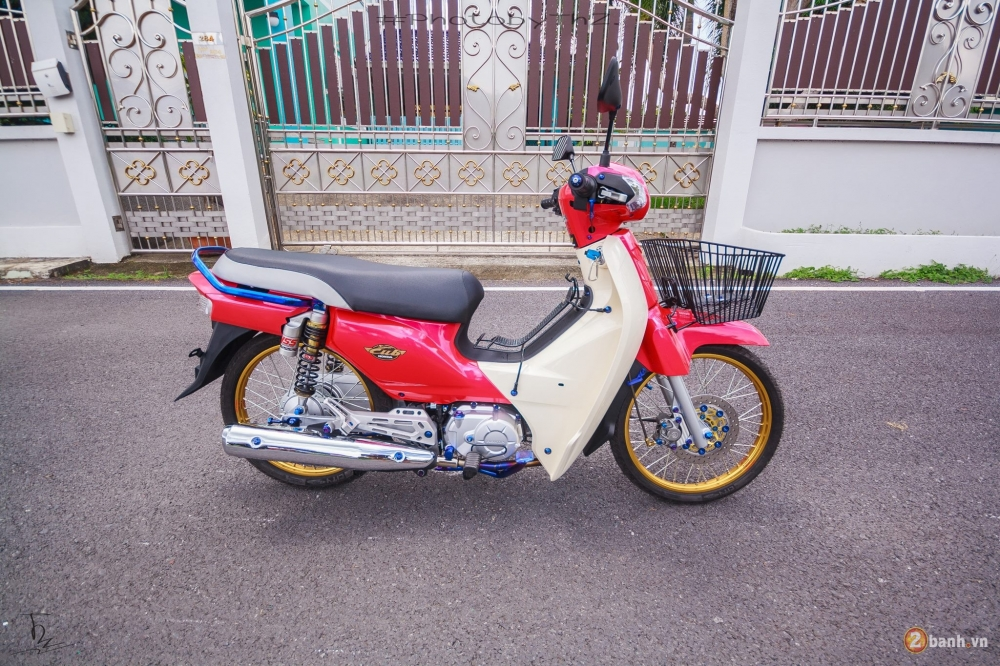 Honda Super Cub do day phong cach tai Thai Lan
