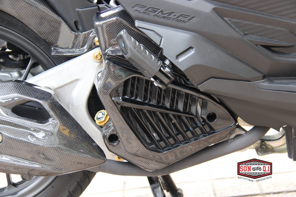 Honda Vario 2016 op Carbon Fiber cung dan option hang hieu - 6