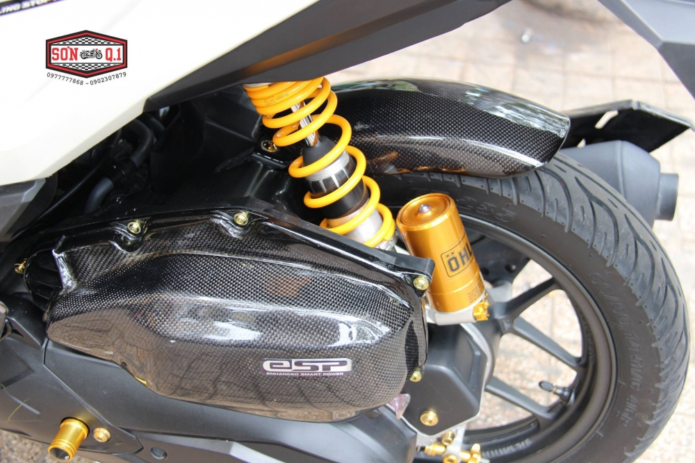 Honda Vario 2016 op Carbon Fiber cung dan option hang hieu - 10