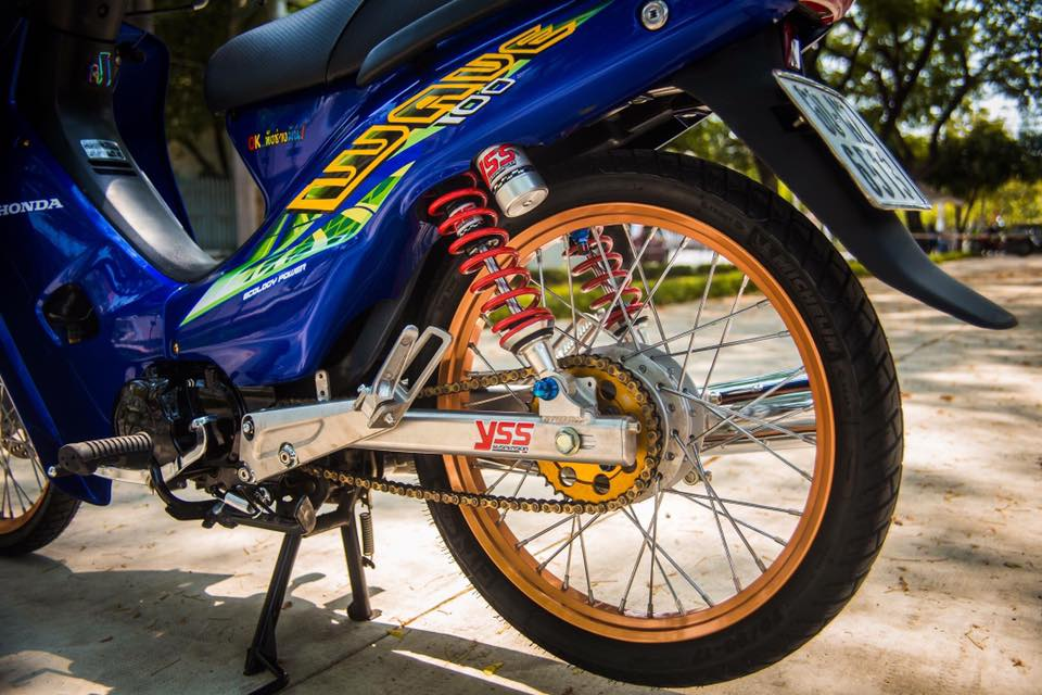 Honda Wave do style Thai Lan day phong cach va an tuong - 3