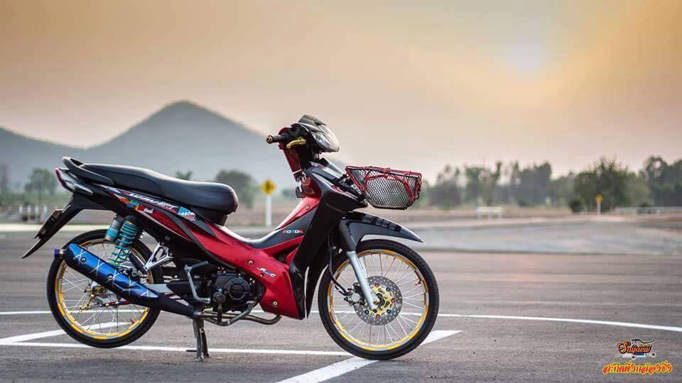 Honda Wave S do nhe day ca tinh tai Thai Lan
