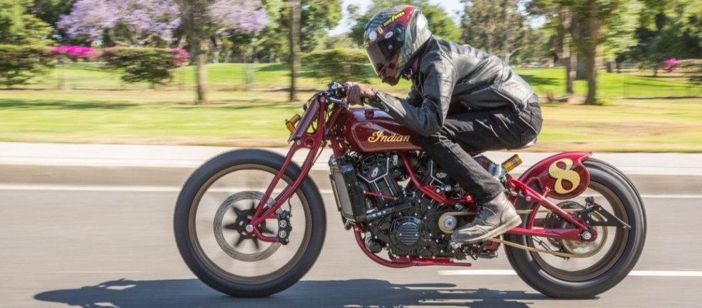 Sieu pham Indian Scout trong ban do kich doc den tu Roland Sands - 15
