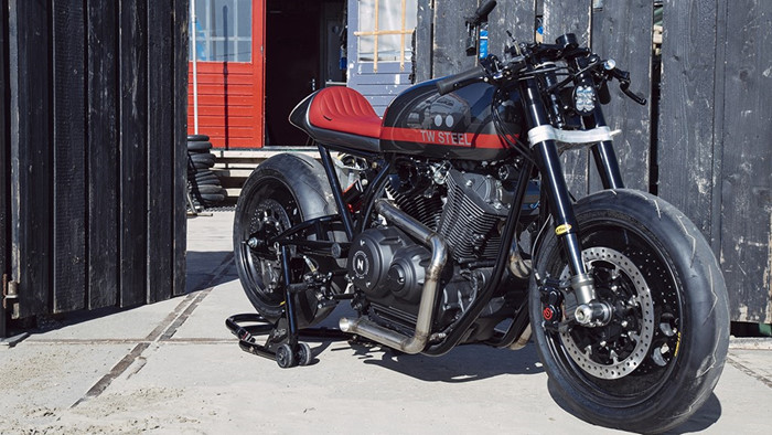 Sons of Time ban do Cafe Racer tuyet dep cua Yamaha