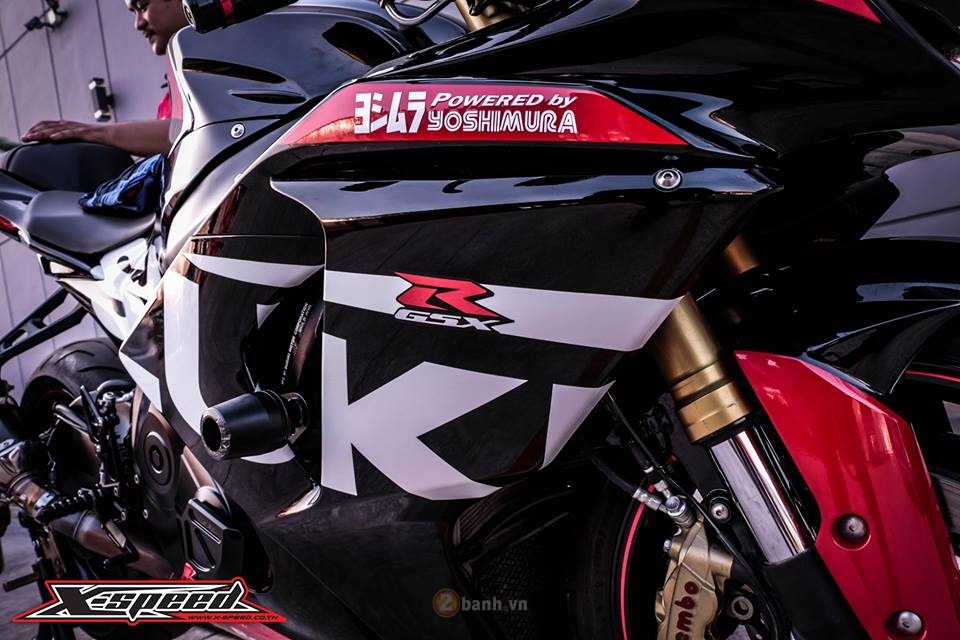 Suzuki GSXR1000 do day the thao phong phien ban Yoshimura - 3