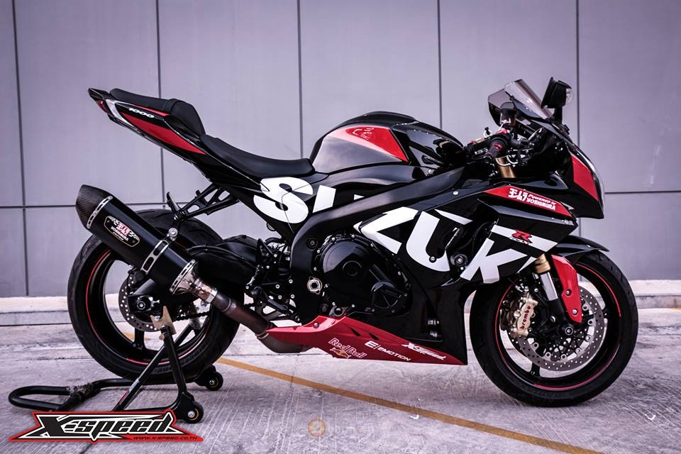 Suzuki GSXR1000 do day the thao phong phien ban Yoshimura - 7