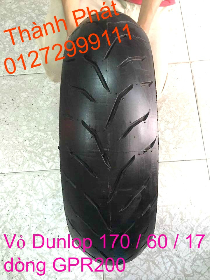 Vo lop xe may PKL va xe nho DunLop Michelin Briedgestone Continental IRC VeeRuber Swallow - 11