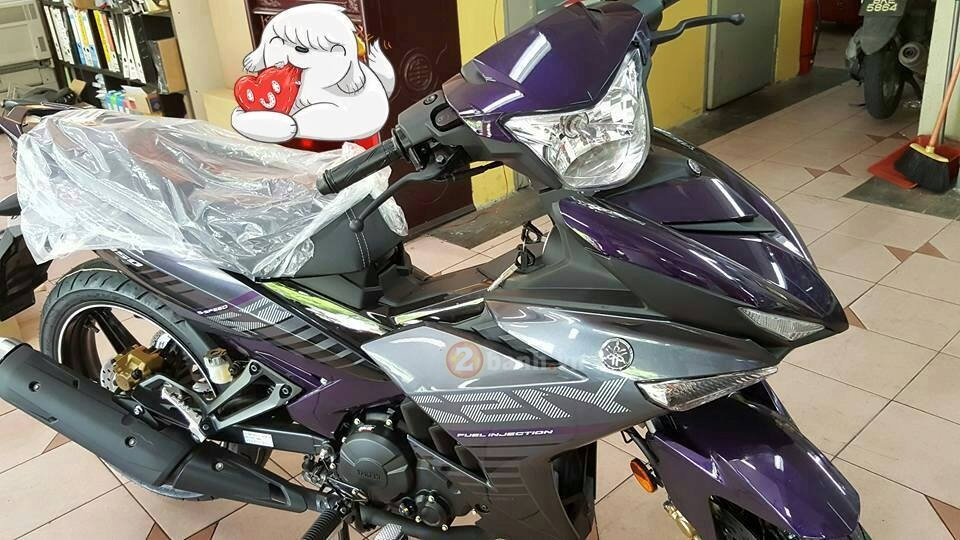 Can canh Exciter 150 Phien ban Anh Tim dac biet