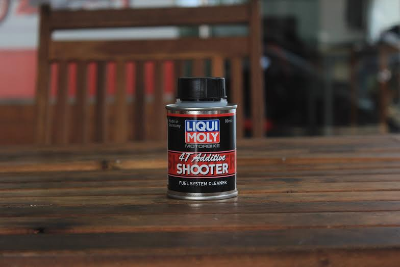 Carbon CleanerLiqui Moly 4T Additive Shooter bao duong xe may
