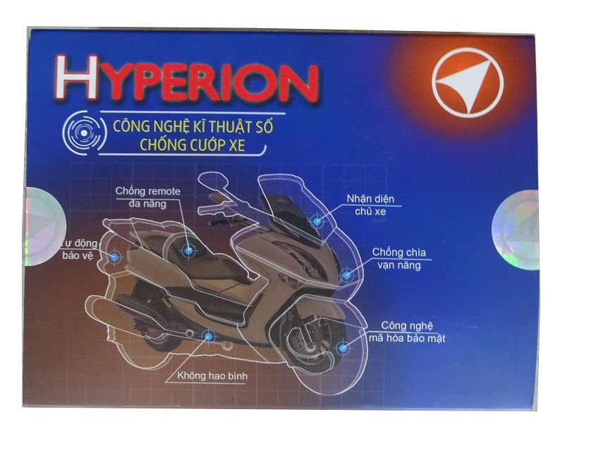 chip smart key HYPERION chong cuop