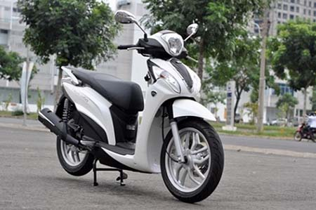 Di Kymco People 16Fi de cam nhan that ve Kymco