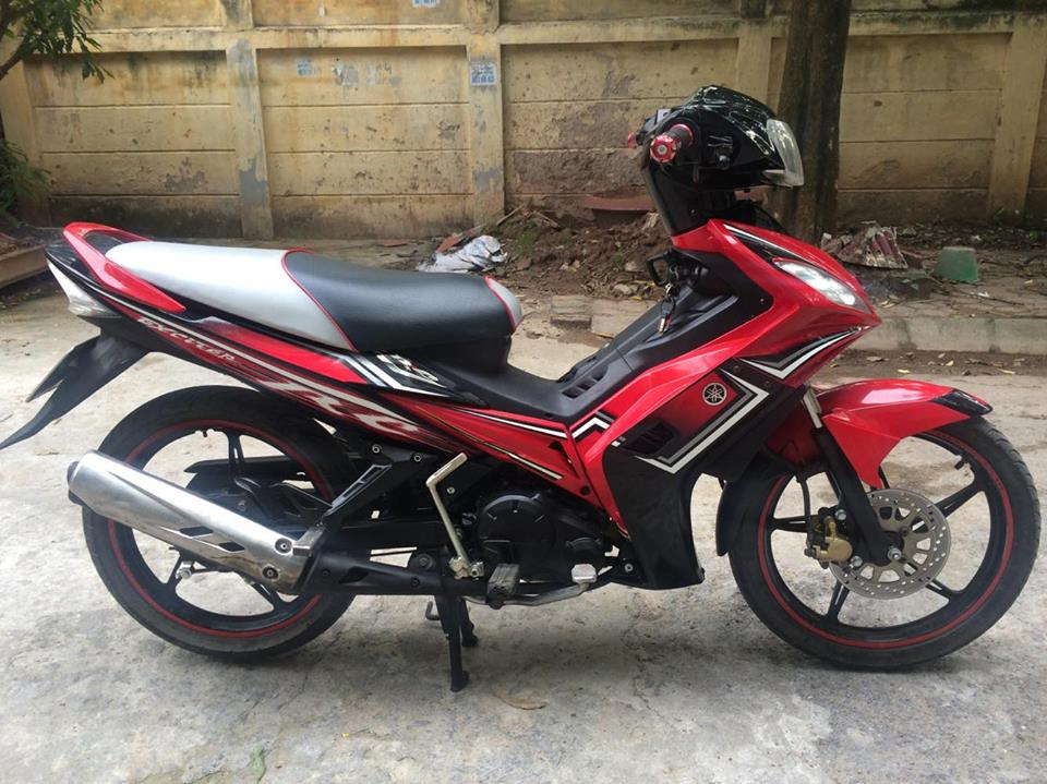 Exciter 135cc RC do den con tu dong 4 so doi chot 2O13 chinh chu
