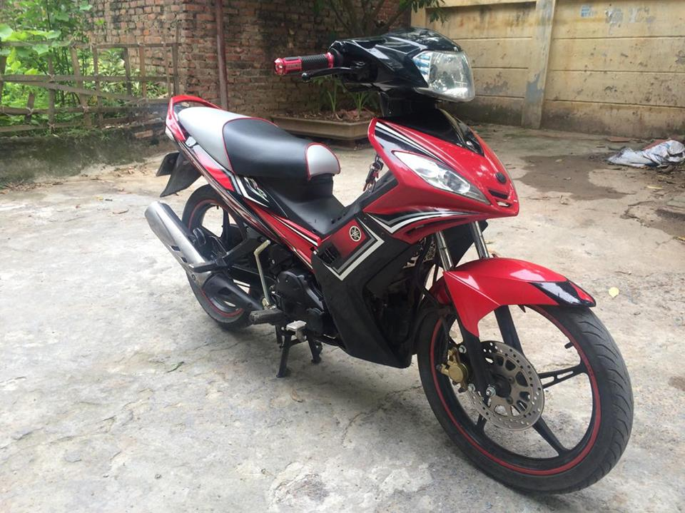 Exciter 135cc RC do den con tu dong 4 so doi chot 2O13 chinh chu - 2