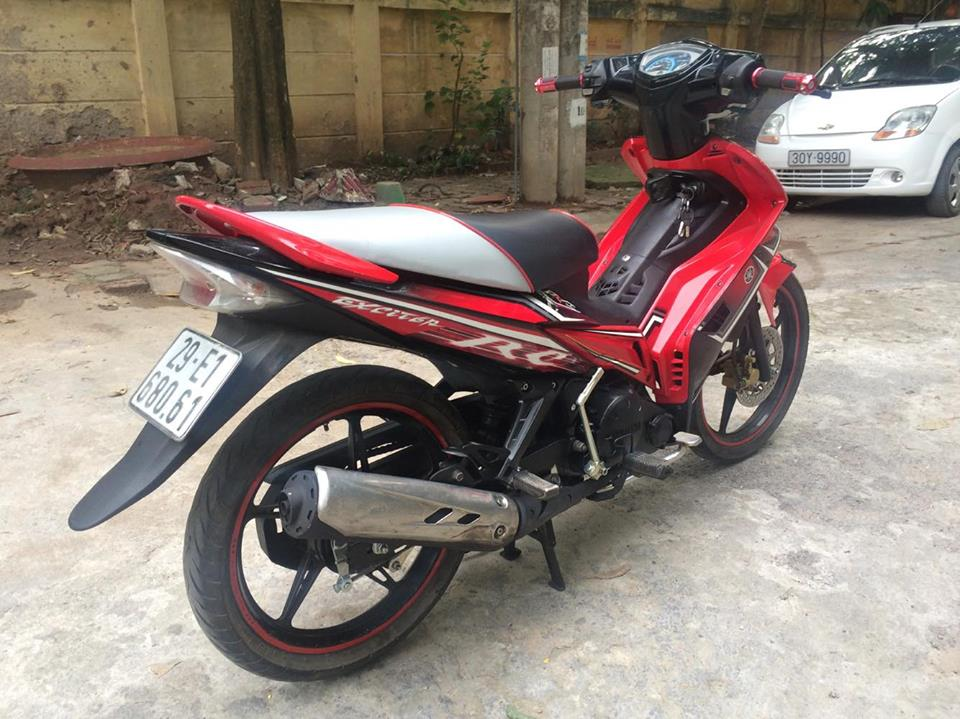 Exciter 135cc RC do den con tu dong 4 so doi chot 2O13 chinh chu - 3