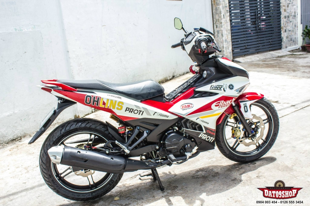 Exciter 150 day an tuong trong ban do hang hieu cuc chat