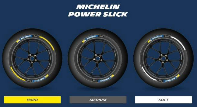 GERMANGP la chang dau tien Michelin gioi thieu lop bat doi xung